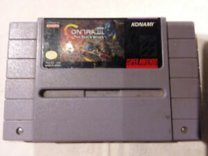 Super Nintendo Contra 3 The Alien Wars