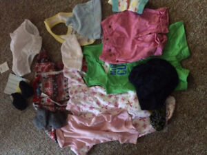 used kids and baby clothing