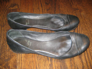 Ladies Root leather ballet shoes