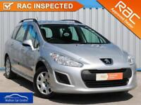 Peugeot 308 1.6 Hdi Sw Access 2012 (62) • from £21.89 pw