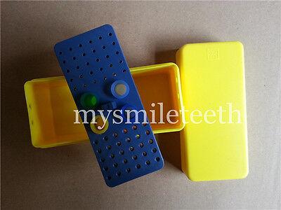 Dental Enodontic Endo Box Block Holder For Bur Reamer Gutta Percha Points 1kit