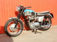 TRIUMPH BONNEVILLE T120R 1961 650cc Matching Frame & Engine Numbers - SEE VIDEO
