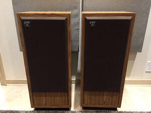 Cerwin Vega Model D-4 Speakers - RARE!