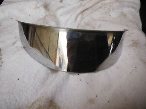 Chrome Headlight Visor was on a 1976 Gold Wing. Universal Fit