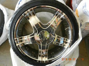 2005 Ford Mustang American Racing 20 inch Rims