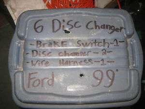 6 Disc changer for Taurus 99 ford