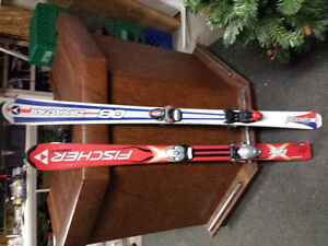 Downhill Ski set of 2 (childrens) poles,boots not included