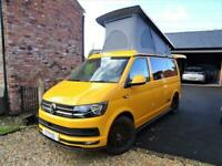 Volkwagen T28 JOBL Design Kampa 4 Berth 4 Travel Seats Motorhome Camper Van For