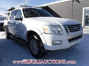 2007 FORD EXPLORER SPORT TRAC LIMITED 4D UTILITY 4WD LIMITED