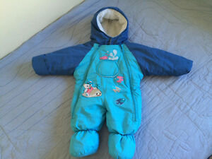 3-6M; 6-8M two BABY WINTER SUITS $5 each