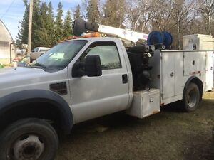 2008 F450 service body, fully tooled open to reasonable offers