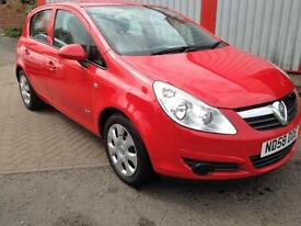 Vauxhall/Opel Corsa 1.2i 16v 2008 Club GREAT FOR FIRST TIME DRIVER
