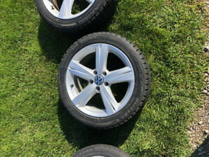 "For Sale 17"" VW/Audi winters"
