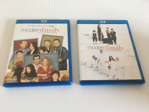 Modern Family First & Third Complete Season Blu Ray Boxsets