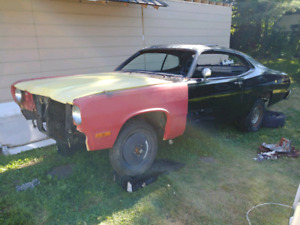 Looking for 1976 duster hood and front bumper