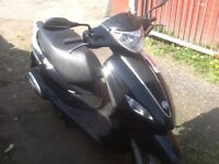Piaggio fly 125 2015 model 5500 miles