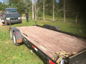Car hauler trailer 18 feet