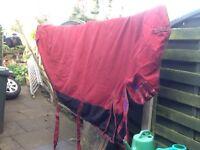 Medium weight 7ft horse rug
