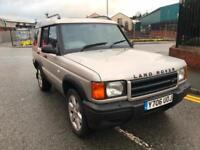2001 LAND ROVER DISCOVERY 2.5Td5 S (7 seat) MOTd OCT 2018 P/X VEHICLE TO CLEAR