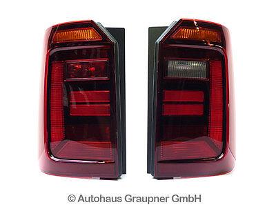 VW Caddy 4 2K abgedunkelte Rückleuchten Schlussleuchten Satz Nachrüsten gebraucht kaufen  Brandis