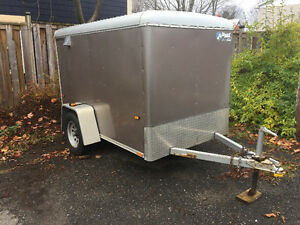 2009 Wells Cargo 5x8' enclosed trailer with Barn doors