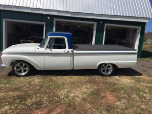 Beautifully restored 1966 F-100 truck