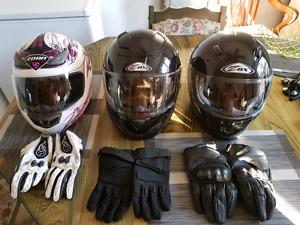 Casque de moto à vendre