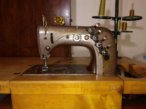 Union Special Chainstitch Sewing Machine and 2 Others