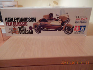 TAMIYA 1/6th Scale Harley Davidson FLH CLASSIC Sidecar model West Island Greater Montréal image 2