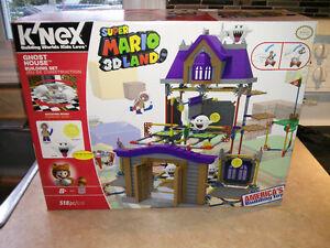 SUPER MARIO 3D LAND K'NEX GHOST HOUSE Nintendo