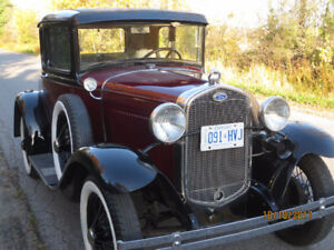 1931 Ford model A Dlx. COUPE