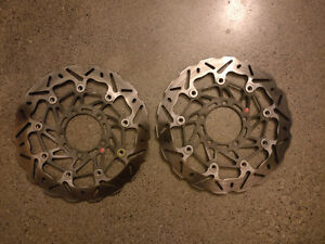 Braking SK2 front rotors for 06-11 Triumph Daytona 675