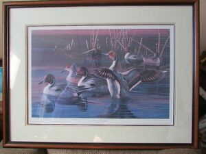 Ducks Unlimited signed, limited edition print by Cynthie Fisher