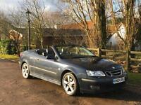 Saab 9-3 2.0t Auto 2004 Vector Convertible 12 Months MOT