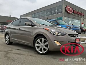 2012 Hyundai Elantra Limited | Tan Interior | 3M | Heated-Seats