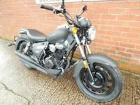 KEEWAY SUPERLIGHT LTD 125 MOTORCYCLE LOW RATE FINANCE AVAILABLE