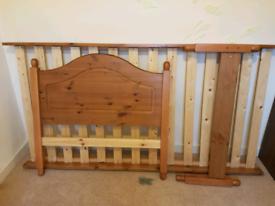 Single Bed Frame 3ft pine