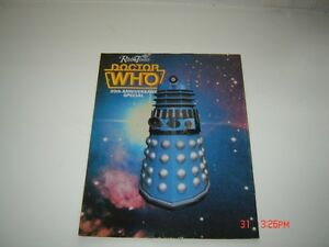 Dr Who Radio Times 20th Anniversary Special magazine