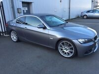Bmw 330i, manual, red leather, Lpg converted 46mpg