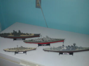 Forces of Valor Military Ship Collection for sale