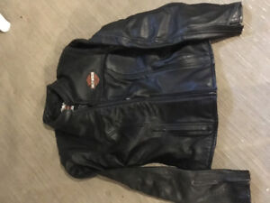 Size small Harley Davidson leather coat