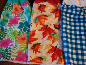 More hanging kitchen towels