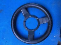 Classic mini steering wheel
