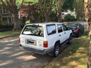 1st owner Toyota 4Runner for sale - $4800