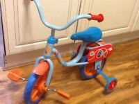 Kids bike - In The Night Garden Bike with Stabilizers