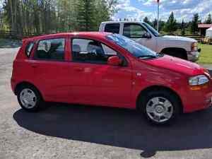 2007 Chevy Aveo Hatchback