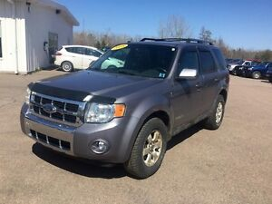 2008 Ford Escape Limited 4D Utility 4WD