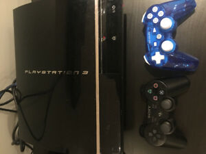 Playstation 3  80 G with games and controllers.