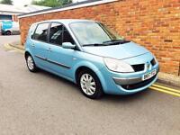 2007 Renault Scenic 1.6 VVT (111bhp) Dynamique Blue