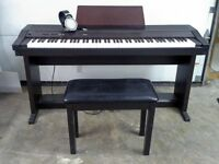 Roland 3000 Series Electric Piano w Bench and Headphones